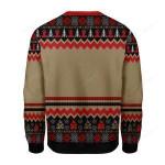 Root Chakra Ugly Christmas Sweater, All Over Print Sweatshirt