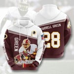 Nfl Washington Redskins Darrell Green 3D All Over Print Hoodie, Zip-up Hoodie