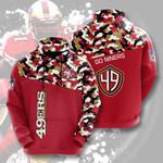 Nfl San Francisco 49ers 3D All Over Print Hoodie, Zip-up Hoodie
