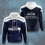 Nfl Seattle Seahawks 3D All Over Print Hoodie, Zip-up Hoodie