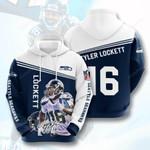 Nfl Seattle Seahawks Tyler Lockett 3D All Over Print Hoodie, Zip-up Hoodie