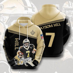 Sports American Football Nfl New Orleans Saints Taysom Hill Usa 839 3D All Over Print Hoodie, Zip-up Hoodie