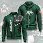 Nfl New York Jets 3D All Over Print Hoodie, Zip-up Hoodie