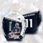 New England Patriots Drew Bledsoe 3D All Over Print Hoodie, Zip-up Hoodie