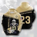 Nfl New Orleans Saints Marshon Lattimore 3D All Over Print Hoodie, Zip-up Hoodie