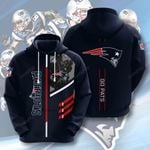 Nfl New England Patriots 3D All Over Print Hoodie, Zip-up Hoodie