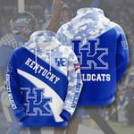 Sports American Ncaaf Kentucky Wildcats 3D All Over Print Hoodie, Zip-up Hoodie