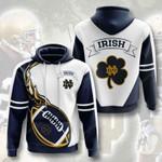 Ncaaf Notre Dame Fighting Irish 3D All Over Print Hoodie, Zip-up Hoodie