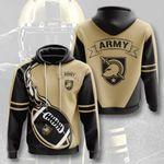 Sports American Football Ncaaf Army Black Knights 3D All Over Print Hoodie, Zip-up Hoodie