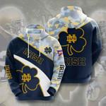 Sports American Ncaaf Notre Dame Fighting Irish 3D All Over Print Hoodie, Zip-up Hoodie