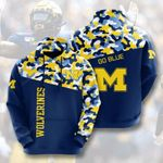 Sports American Ncaaf Michigan Wolverines 3D All Over Print Hoodie, Zip-up Hoodie