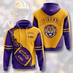 Sports American Ncaaf Lsu Tigers 3D All Over Print Hoodie, Zip-up Hoodie