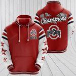 Sports American Ncaaf Ohio State Buckeyes 3D All Over Print Hoodie, Zip-up Hoodie