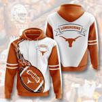 Sports American Ncaaf Texas Longhorns 3D All Over Print Hoodie, Zip-up Hoodie