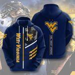 Ncaa West Virginia Mountaineers3d All Over Print Hoodie, Zip-Up Hoodie