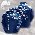 Ncaa Penn State Nittany Lions 3d All Over Print Hoodie, Zip-Up Hoodie