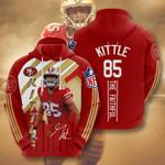 San Francisco George Kittle 3D All Over Print Hoodie, Zip-up Hoodie