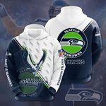 Seattle Seahawks 3D All Over Print Hoodie, Zip-up Hoodie