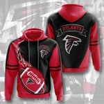 Atlanta Falcons 3D All Over Print Hoodie, Zip-up Hoodie