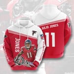 Atlanta Falcons Julio Jones 3D All Over Print Hoodie, Zip-up Hoodie
