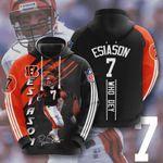 Cincinnati Bengals Boomer Esiason 3D All Over Print Hoodie, Zip-up Hoodie