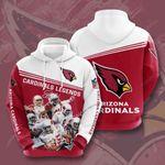 Arizona Cardinals 3D All Over Print Hoodie, Zip-up Hoodie