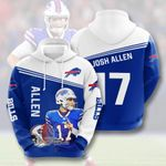 Buffalo Bills 3D All Over Print Hoodie, Zip-up Hoodie