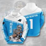 Carolina Panthers Cam Newton 3D All Over Print Hoodie, Zip-up Hoodie