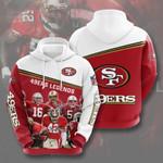 San Francisco 49ers 3d All Over Print Hoodie, Zip-Up Hoodie