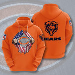 Chicago Bears 3D All Over Print Hoodie, Zip-up Hoodie
