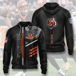Cincinnati Bengals 3D All Over Print Hoodie, Zip-up Hoodie