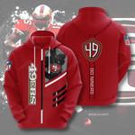 Sport San Francisco 49ers 3D All Over Print Hoodie, Zip-up Hoodie