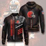Cleveland Browns 3D All Over Print Hoodie, Zip-up Hoodie