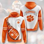 Ncaa Clemson Tigers 3D All Over Print Hoodie, Zip-up Hoodie