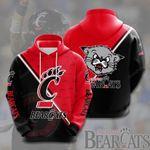 Ncaa Cincinnati Bearcats 3D All Over Print Hoodie, Zip-up Hoodie