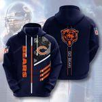 Sports American Nfl Chicago Bears 3D All Over Print Hoodie, Zip-up Hoodie