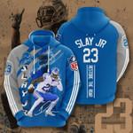 Detroit Lions Darius Slay 3D All Over Print Hoodie, Zip-up Hoodie