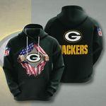 Sports American Nfl Green Bay Packers 3D All Over Print Hoodie, Zip-up Hoodie