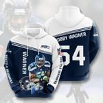 Seattle Seahawks Bobby Wagner 3d All Over Print Hoodie, Zip-Up Hoodie