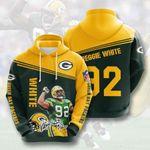 Green Bay Packers Reggie White 3D All Over Print Hoodie, Zip-up Hoodie