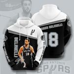 San Antonio Spurs 3D All Over Print Hoodie, Zip-up Hoodie