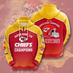 Kansas City Chiefs 3D All Over Print Hoodie, Zip-up Hoodie