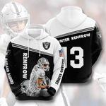 Las Vegas Raiders Hunter Renfrow 3D All Over Print Hoodie, Zip-up Hoodie
