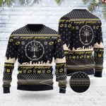 The Lord Of The Rings Ugly Christmas Sweater, All Over Print Sweatshirt