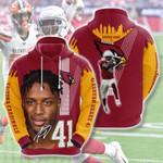 Nfl Arizona Cardinals Kenyan Drake 3D All Over Print Hoodie, Zip-up Hoodie