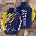 Los Angeles Chargers Joey Bosa 3D All Over Print Hoodie, Zip-up Hoodie
