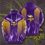Minnesota Vikings 3D All Over Print Hoodie, Zip-up Hoodie