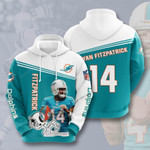 Miami Dolphins Ryan Fitzpatrick 3D All Over Print Hoodie, Zip-up Hoodie