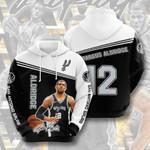 San Antonio Spurs LaMarcus Aldridge 3d 3D All Over Print Hoodie, Zip-up Hoodie