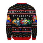 Among Us Imposter Friends Ugly Christmas Sweater, All Over Print Sweatshirt